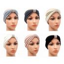Großhandel Kopfbedeckung: Stirnband Schleife Strass Ohrwärmer Kopfschmuck