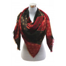 wholesale Dresses: XXL Women Scarf  Glitter threads cloth with star re