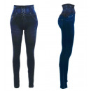 wholesale Trousers: Thermo Jeggings  High Waist Leggings Cords