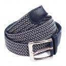 Unisex braided belt belt braided blue