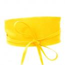 Großhandel Gürtel: Damen Gürtel Taillengürtel Wickel Leder Gelb