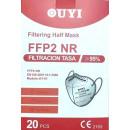 FFP2 Mundschutzmaske 20 Stück/Box zertifiziert