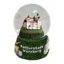 Souvenir Schneekugel Kulturstadt Würzburg