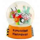Souvenir Snow Globe 65mm Hanover