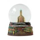 Souvenir Schneekugel Nürnberger Kinder Weihnachtsm
