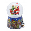 Snowglobe Santa gifts Snowmotion, LED