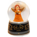 Snow Angel Ball terracotta bowl music 140mm