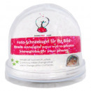 grossiste Boules de neige: Photo neige globe  transparent de base / Glitter