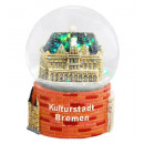 Souvenir snow globe Culture City of Bremen