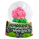 wholesale Snow Globes: Snow globe Ammerland Rhodo 65mm with air bubble
