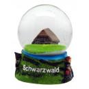 Souvenir Schneekugel Schwarzwald 65mm
