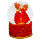 Restanten Snowglobe engel rode bubble