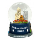 Souvenir snow globe Christmas market in Berlin