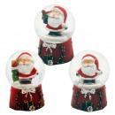Schneekugel Weihnacht Nikolaus  45mm