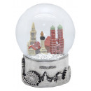 Souvenir Snowglobe Munich Skyline 80mm