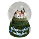 Souvenir Snow Globe Franconian wine country