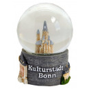 Souvenir Schneekugel Bonn