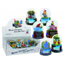 sorted assortment fairytale Snow Globes 6x