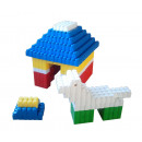Toys - BLOCKS WITH GIANT DOG HOUSE