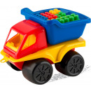 Toys - TRUCK + BLOCKIS (12 pieces)