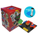 wholesale Blocks & Construction: Games - COMBIS 33 PIECES WITH CLOCK
