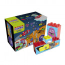 wholesale Blocks & Construction: Toys - Space  Combisticker 56 pieces