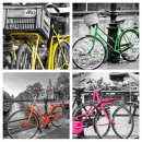 wholesale Bicycles & Accessories: 4 murals  bicycle   Art Print 39 x 39 cm each