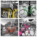 grossiste Sports & Loisirs: 4 peintures  murales   bicyclette  Art ...