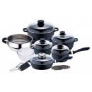 groothandel Glazen: 16 stuks. SET pan  Cookware Inductie pot