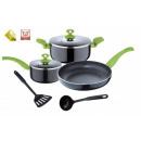 grossiste Aides de cuisine: 7 pièces batterie  de cuisine aides de cuisine pot