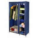 Armario azul ropa estante y Código Postal