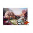 wholesale Puzzle: Puzzle  Quaint  Cottage  2000 parts of 98 x 75cm