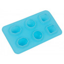groothandel Bakken: Silicone Ice Cube  Tray  Diamond  voor 6 ijsblokjes