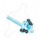 groothandel Fietsen & accessoires: Fender modder: PE  Grizzly blauwe schort
