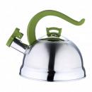 groothandel Keukenapparatuur: 2,5 Liter RVS  Ketel  Olive  Inductie