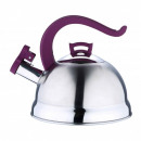 wholesale Kitchen Electrical Appliances: 2.5 liter kettle  Kettles  Purple  whistling kettle