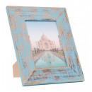 ingrosso Home & Living: Henzo legno  cornice 13 x 18 cm INDIA  Blue