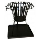 wholesale Barbecue & Accessories: Fire basket incl.  Base plate fire bowl black