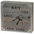 Großhandel Kleinmöbel: Nostalgischer  Schlüsselkasten  New York 1968