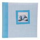 grossiste Classeurs et dossiers: Panodia album  photo bébé Tilou bleu pour 240 photo