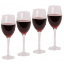 grossiste Lunettes: Verres à vin Set 4  pcs. Glass Set Glass Set