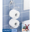 WENKO Smart-Loc Toilet Roll Holder