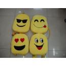 Rucksack mit lustigen Gesichtern