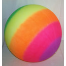 Jumbo  Regenbogenball im Netz
