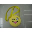 Großhandel Handtaschen: Umhängetasche mit lustigen Gesichtern