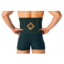 Magic Copper Rücken-Bandage schwarz L/XL