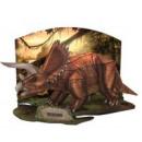 3D Puzzle Dino-Triceratops-41tlg.