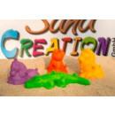 3D Mini Sandfiguren 4er Set