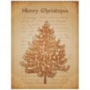 Holzbild Merry Christmas 40 X 60 cm