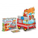 Sassi-Die Feuerwehr-3D-Riesenpuzzle-KID
